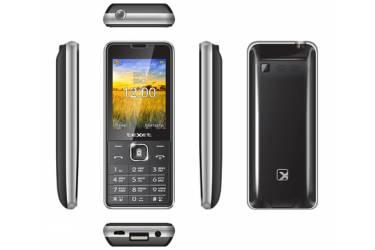 Мобильный телефон teXet TM-D227 черный-серебристый