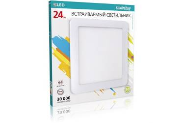 Встраиваемый (LED) светильник DL Smartbuy Sguare-24w/6500K/IP20 _300х10мм (вр.отв.280мм) _квадрат/20
