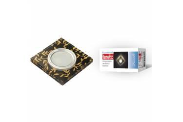 Светильник точечный Uniel DLS-L205 GU5.3 CHROME/BLACK без лампы