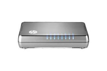 net. HPE 1405 8G v3 Switch (8 ports 10/100/1000, Unmanaged, fanless, desktop) (rep
