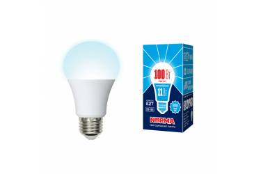 Лампа светодиодная Uniel Norma LED-A60-11W/NW/E27/FR/NR картон