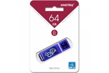 USB флэш-накопитель 64GB SmartBuy Glossy series темно-синий USB3.0