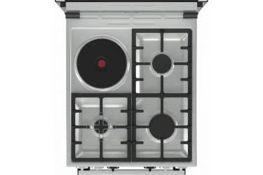 Плита Комбинированная Gorenje K5341XD нержавеющая сталь/черный