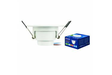 Светильник светодиодный встр потолоч Uniel ULM-Q261 5W/DW IP44 WHITE круг белый