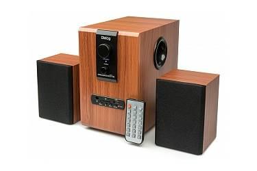 sp Dialog Progressive AP-150 BROWN 2.1, 10W+2*5W RMS, USB+SD reader