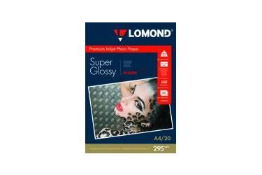 Фотобумага Lomond Premium Суперглянцевая A4 295 г/м2 20л односторонняя (1108101)