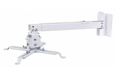 Кронштейн для проектора Cactus CS-VM-PRE02-WT белый макс.23кг настенный и потолочный поворот и наклон