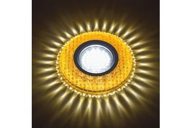 Светильник точечный Uniel DLS-L135 GU5.3 GLASSY/GOLD без лампы