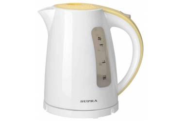 Чайник Supra KES-1726 бело-желтый