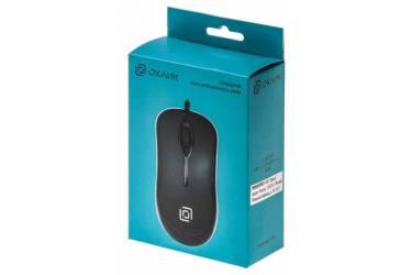Мышь Oklick 285M черный оптическая (1000dpi) USB (2but)
