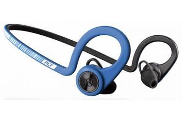 Гарнитура вкладыши Plantronics BackBeat Fit синий/черный беспроводные bluetooth (крепление за ухом)