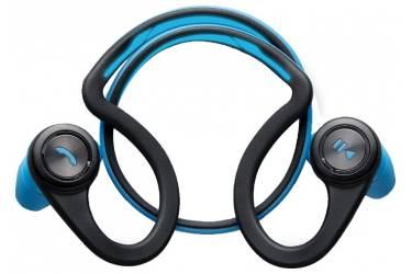 Гарнитура вкладыши Plantronics BackBeat Fit черный/синий беспроводные bluetooth (крепление за ухом)