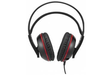 Гарнитура мониторы Asus Cerberus 1.2м черный/красный проводные (оголовье)