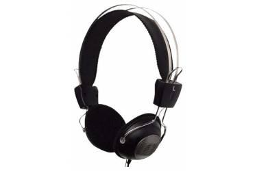 Наушники с микрофоном A4 HS-23 черный/серый 2м накладные оголовье