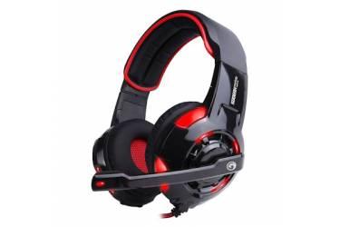 Гарнитура Marvo HG9005 black+red 2м, surround, USB