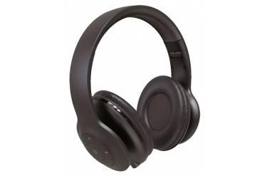 Наушники беспроводные (Bluetooth) Perfeo SOLE полноразмерные с микрофоном чёрные
