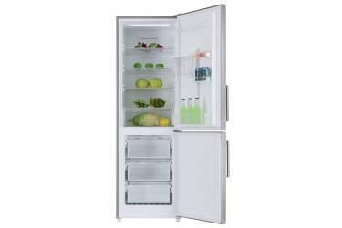 Холодильник Ascoli ADRFS375WE серебристый 185*59*68см 305л(х214м59) дисплей полный No Frost