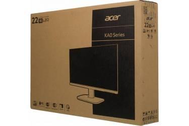 "Монитор Acer 21.5"" KA220HQbid черный TN LED 5ms 16:9 DVI HDMI матовая 200cd 90гр/65гр 1920x1080 D-Sub FHD"