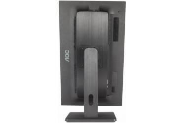 """Монитор AOC 21.5"""" Professional E2275PWQU черный TN+film LED 2ms 16:9 DVI HDMI M/M матовая HAS Pivot 250cd 1920x1080 D-Sub DisplayPort FHD USB 4.97кг"""