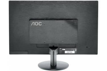 "Монитор AOC 21.5"" Value Line E2270SWDN(00/01) черный TN+film LED 16:9 DVI матовая 700:1 200cd 1920x1080 D-Sub FHD 3.45кг"