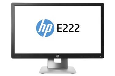 "Монитор HP 21.5"" EliteDisplay E222 черный IPS LED 16:9 HDMI полуматовая HAS Pivot 250cd 178гр/178гр 1920x1080 D-Sub DisplayPort FHD USB 5.27кг"
