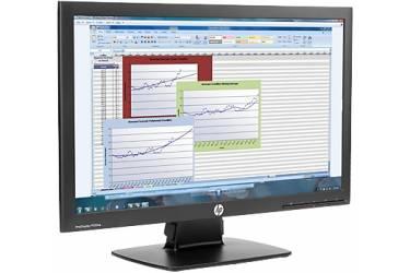 """Монитор HP 21.5"""" P222va черный TN+film 16:9 полуматовая 250cd 178гр/178гр 1920x1080 D-Sub DisplayPort FHD 3.61кг"""
