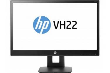 "Монитор HP 21.5"" VH22 черный TN+film LED 5ms 16:9 DVI матовая HAS Pivot 250cd 170гр/160гр 1920x1080 D-Sub DisplayPort FHD 4.5кг"