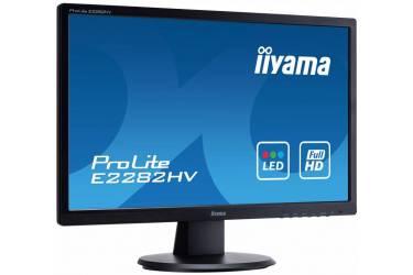 "Монитор Iiyama 21.5"" ProLite E2282HV-B1 черный TN+film LED 5ms 16:9 матовая 250cd 170гр/160гр 1920x1080 D-Sub FHD 2.9кг"