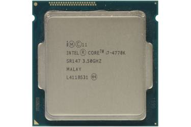 Процессор Intel Core i7 4770K Soc-1150 (3.5GHz/5000MHz/Intel HD Graphics 4600) OEM