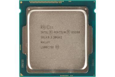 Процессор Intel Original Pentium Dual-Core G3260 Soc-1150 (CM8064601482506S R1K8) (3.3GHz/5000MHz/Intel HD Graphics) OEM