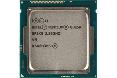 Процессор Intel Original Pentium Dual-Core G3260 Soc-1150 (BX80646G3260 S R1K8) (3.3GHz/Intel HD Graphics) Box