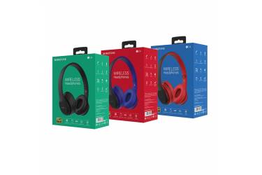 Наушники беспроводные (Bluetooth) Borofone BO4 Charming rhyme Wireless полноразмерные Black