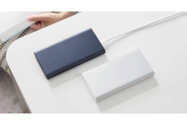 Внешний аккумулятор Xiaomi Powerbank 3 10000 mAh Type-C + 2USB Fast Charge 18W (PLM13ZM) Silver