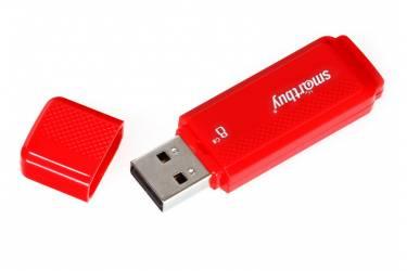 USB флэш-накопитель 16Gb SmartBuy Dock красный USB2.0