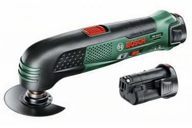 Многофункциональный инструмент Bosch PMF 10.8 Li зеленый/черный