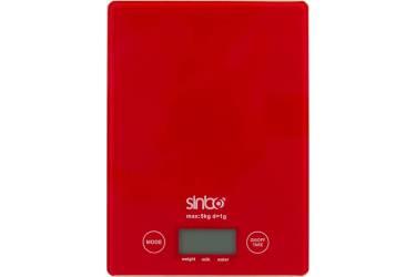 Весы кухонные электронные Sinbo SKS 4519 макс.вес:5кг красный
