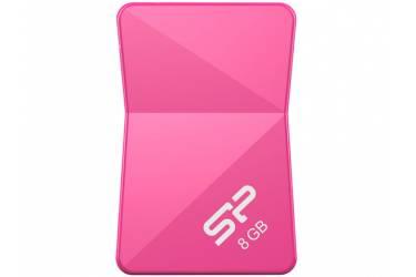 USB флэш-накопитель 8GB Silicon Power Touch T08 розовый USB2.0