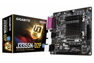 Материнская плата Gigabyte GA-J3355N-D2P 2xDDR3L mini-ITX AC`97 8ch(7.1) GbLAN+VGA+HDMI