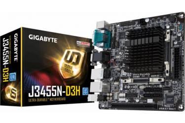 Материнская плата Gigabyte GA-J3455N-D3H 2xDDR3L mini-ITX AC`97 8ch(7.1) 2xGgE+VGA+HDMI