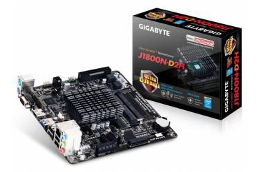 Материнская плата Gigabyte GA-J1800N-D2H mini-ITX AC`97 8ch(7.1) GbLAN+VGA+HDMI