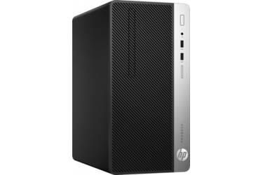 ПК HP ProDesk 400 G4 MT i5 7500 (3.4)/4Gb/500Gb 7.2k/HDG630/DVDRW/Windows 10 Professional 64/GbitEth/180W/клавиатура/мышь/черный