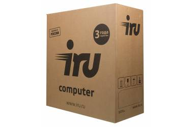ПК IRU Office 313 MT i3 7100 (3.9)/8Gb/1Tb 7.2k/HDG630/Windows 10 Home Single Language 64/GbitEth/400W/черный