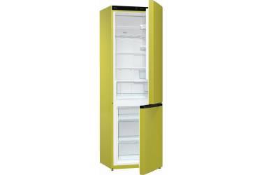 Холодильник Gorenje NRK6192CAP4 зеленый (двухкамерный)