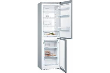 Холодильник Bosch KGN39NL14R серебристый (двухкамерный)