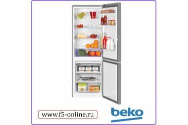 Холодильник Beko RCNK321E20S серебристый (186x60x60см; диспл.; NoFrost)
