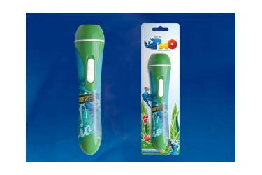 Фонарь Uniel R-LD701-B RIO1-42 Green 2-х  АА в/к зелёный карманный пластмассовый