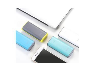 Внешний аккумулятор Hoco Xiao Nai Power Bank B21-5200 mAh, Gray