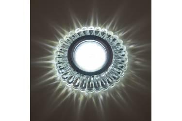 Светильник точечный Uniel DLS-L145 GU5.3 GLASSY/CLEAR без лампы