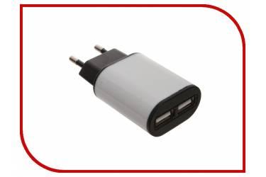 СЗУ Aksberry 2 USB 2.1A + кабель microUSB