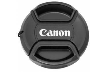 Крышка Fujimi для объектива с надписью Canon с центральной фиксацией 58 мм